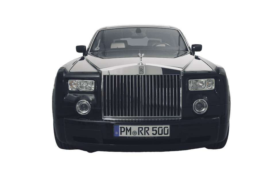 Rolls Royce Phantom frontal