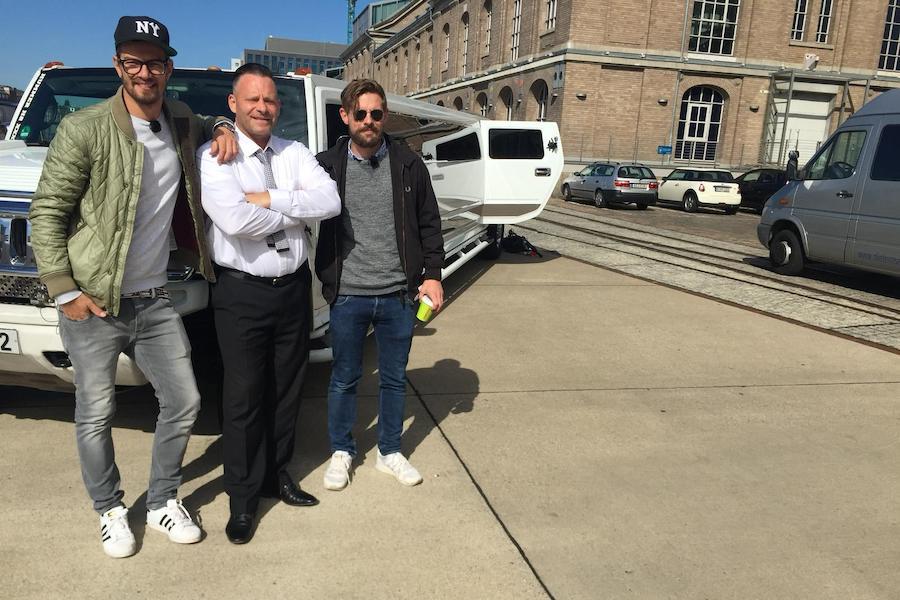 Joko und Klaas on Tour mit unserer HUMMER H2 Stretchlimo